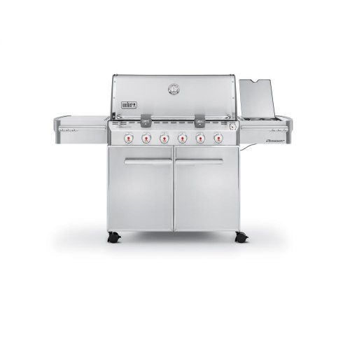 SUMMIT® S-620™ LP GAS GRILL - STAINLESS STEEL