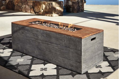 Low RECT Fire Pit Table