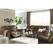 Capehorn Reclining Sofa - Earth
