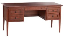 GAC 4-Drawer McKenzie Desk in Antique Cherry Finish