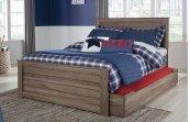 Javarin - Grayish Brown 5 Piece Bed Set (Full)