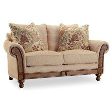 Living Room Windward Dart Honey Loveseat