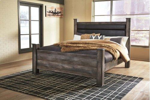 Wynnlow - Gray 4 Piece Bed Set (King)