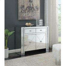 Contemporary Silver Cabinet
