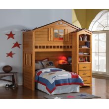 HOUSE BUNKBED FRONT CHEST