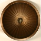 Bronze Large Round Fluted Product Image