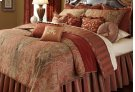 12PC. Queen Comforter Set Spice Product Image