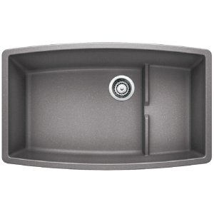 Blanco Performa Cascade Super Single Bowl - Metallic Gray