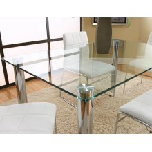 Napoli 32x48 Glass Top W/discs