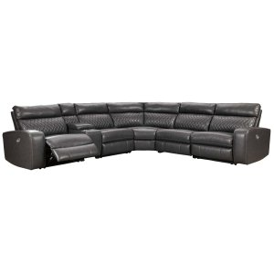 Ashley Furniture Samperstone - Gray 6 Piece Sectional