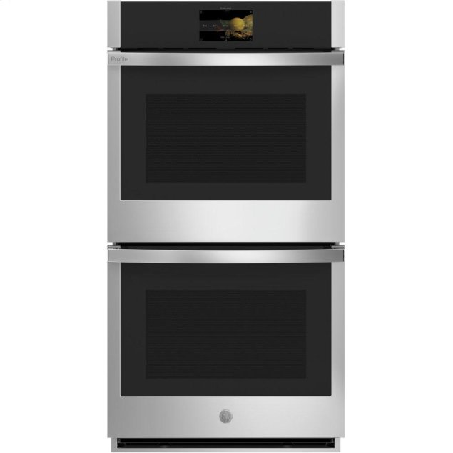 """GE Profile 27"""" Smart Built-In Convection Double Wall Oven"""