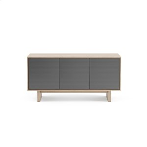 Bdi FurnitureTriple Width Media Cabinet 8377 Gfl In Drift Oak