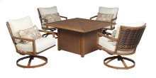 Zoranne - Beige/Brown 3 Piece Patio Set