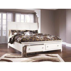 Ashley Furniture Prentice - White 3 Piece Bed Set (King)