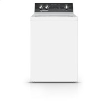 26 Inch Top Load Washer with 6 Preset Cycles, White