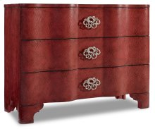 Living Room Melange Saffron Crackle Chest