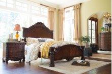North Shore - Dark Brown 3 Piece Bed Set (King)