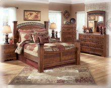 Ashley 4-Piece Queen Poster Bedroom Set