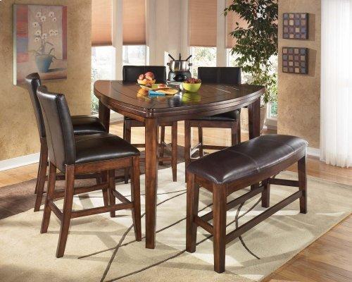 Larchmont - Burnished Dark Brown Set Of 2 Dining Room Barstools