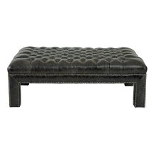 Logan Ottoman in #44 Antique Nickel