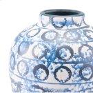 Ree Md Vase Blue & White Product Image