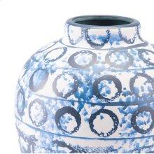 Ree Md Vase Blue & White