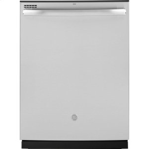 GE  ®Top Control with Plastic Interior Dishwasher with Sanitize Cycle & Dry Boost
