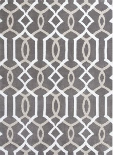 "Allure 4081 Taupe Gramercy 30"" X 50"""