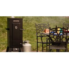 "Vertical 36"" Propane Smoker"