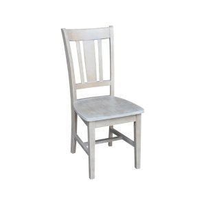 JOHN THOMAS FURNITURESan Remo Desk Chair in Taupe Gray