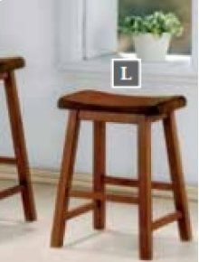 "24"" Bar Stool (Honey Oak)"