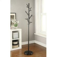 Contemporary Black Coat Rack