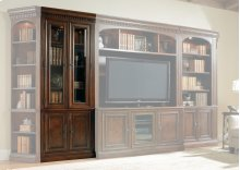 Home Office European Renaissance II Glass Door Bookcase