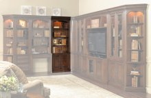 "Home Office European Renaissance II 32"" Door Bookcase"