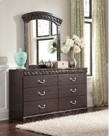 Vachel - Dark Brown 2 Piece Bedroom Set