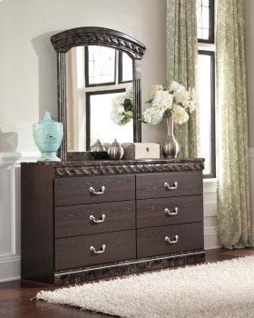 Vachel - Dark Brown 2 Piece Bedroom Set