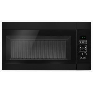 1.6 Cu. Ft. AOver-the-Range Microwave with Add 0:30 Seconds Black - BLACK
