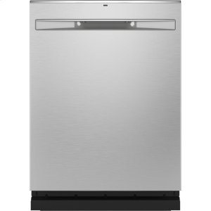 GE®Top Control with Stainless Steel Interior Dishwasher with Sanitize Cycle & Dry Boost