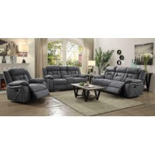 Houston Casual Stone Motion Sofa