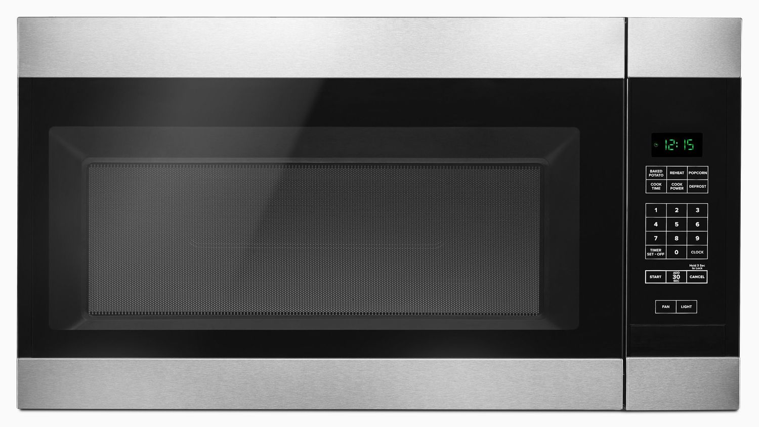 Amv2307pfs Amana 1 6 Cu Ft Over The Range Microwave With
