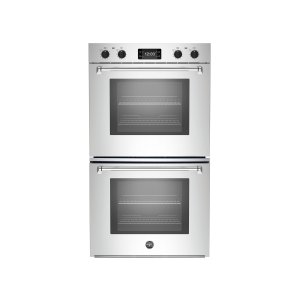 Bertazzoni30 Double Convection Oven with Assistant Stainless Steel