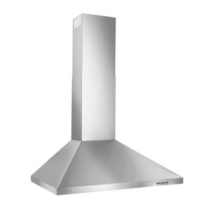 BroanBroan(R) 30-Inch Convertible European Style Wall-Mounted Chimney Range Hood, 350 CFM, Stainless Steel