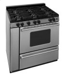 36 in. ProSeries Freestanding Sealed Burner Gas Range in Stainless Steel Product Image