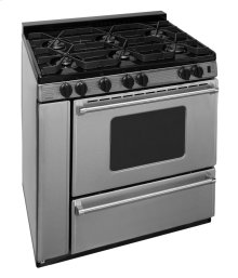 36 in. ProSeries Freestanding Sealed Burner Gas Range in Stainless Steel