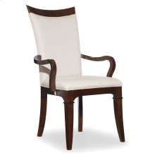 Dining Room Palisade Upholstered Arm Chair