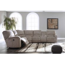 Pittsfield - Fossil 4 Piece Sectional