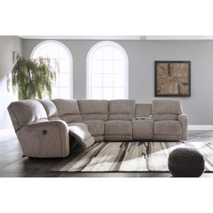 Ashley Furniture Pittsfield - Fossil 4 Piece Sectional