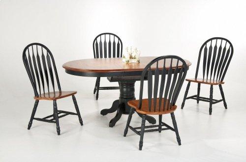 Single Pedestal / Butterfly Leaf Table