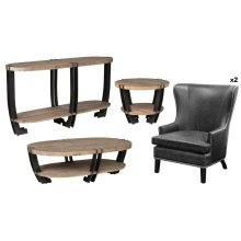 Marcelo 5 Pc Occasional Set