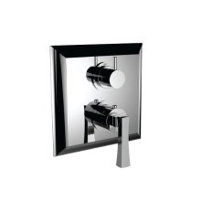 """7099ed-tm - 1/2"""" Thermostatic Trim With Volume Control and 3-way Diverter in Polished Chrome"""